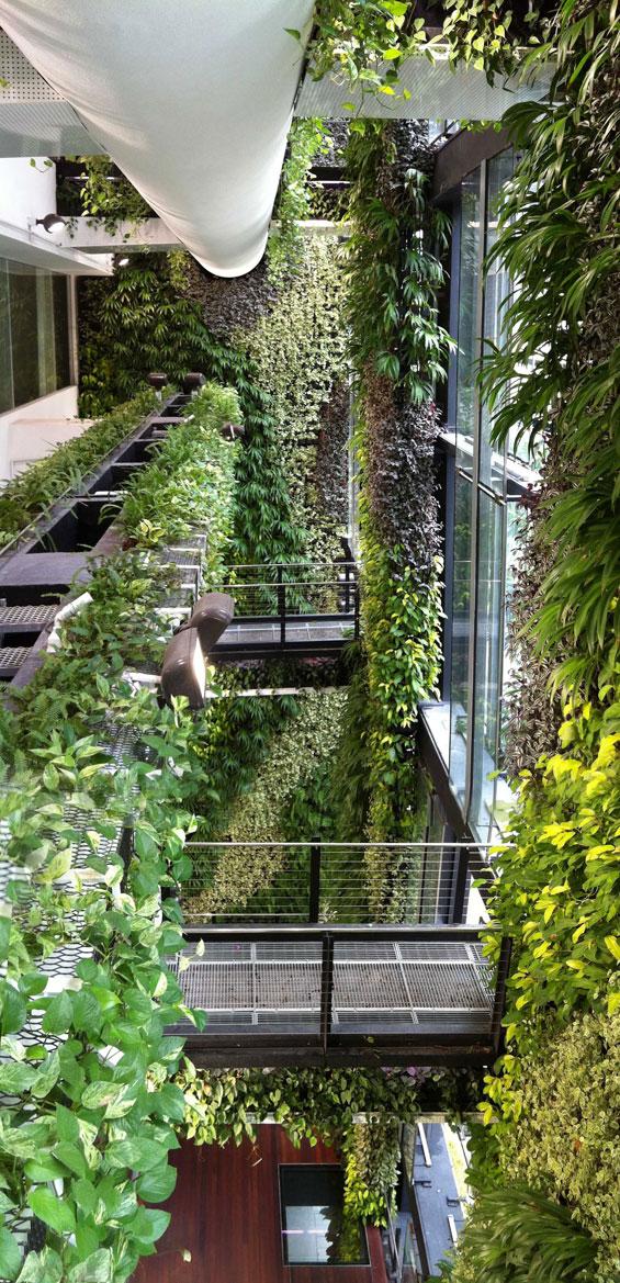 focus projet jardin suspendu vysages. Black Bedroom Furniture Sets. Home Design Ideas