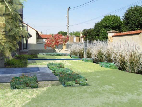 paysagiste witry les reims conception d 39 un jardin plant et chaleureux vysages. Black Bedroom Furniture Sets. Home Design Ideas