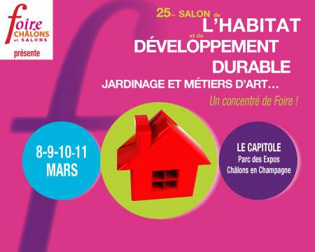 Salon de l 39 habitat et du d veloppement durable vysages - Salon developpement durable ...