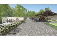 Projet de cimetière paysager