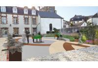 Déambulations : aménagement paysager de la cour de l'EHPAD de Nogent-Sur-Seine