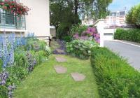 Esquisse 1 - Vue sur l'entrée du jardin