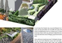 Esquisse 1: Jardin chevrons