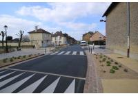 Traversée de Glaire: aménagement des rues du Maréchal Foch et de Sedan