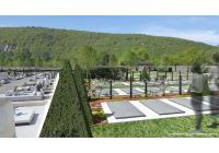 Nouvel espace cinéraire et zone d'accueil abritée pour les cérémonies du cimetière