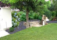 Esquisse 1 - Vue sur l'arrière du jardin