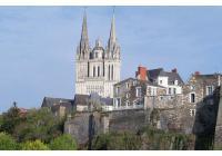 Aménagement des abords de la cathédral d'Angers