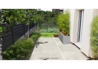Jardin urbain à transformer