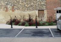 La place Thiers et son parking paysager