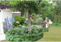 Esquisse 2 - Vue sur l'arrière du jardin
