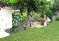 Avant-projet - Vue sur l'arrière du jardin